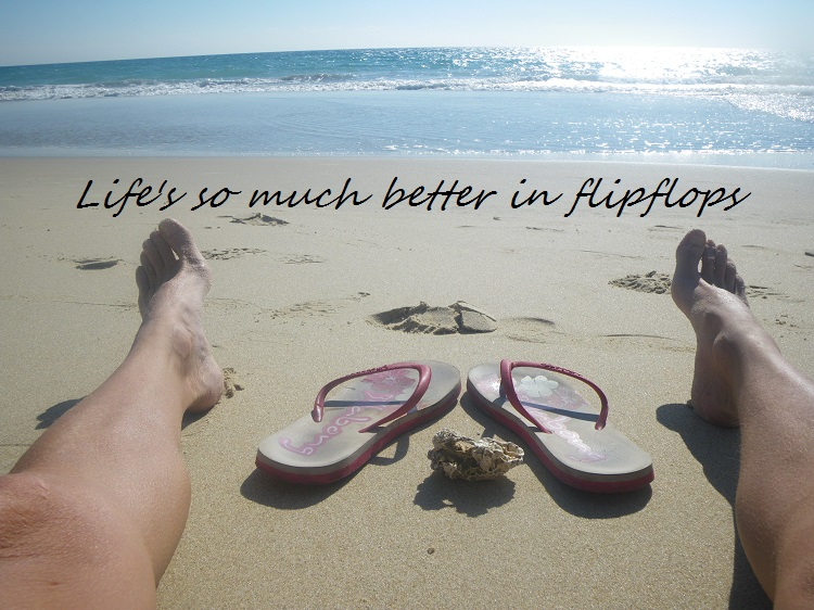 Life's so much better in flipflops